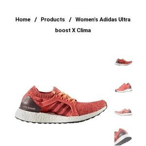 Adidas barley ultra boost clima cool running shoe